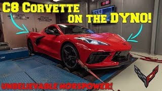 Download 2020 C8 CORVETTE on the DYNO! WAY higher horsepower and torque than GM is reporting!! Video