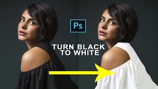 Download How to Change Color of a Black Dress in Photoshop|Turn Black Dress to White in Photoshop Video