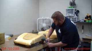Download Restoring your foam cushion using a steamer Video