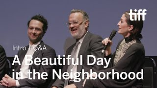 Download A BEAUTIFUL DAY IN THE NEIGHBORHOOD Cast and Crew Q&A | TIFF 2019 Video