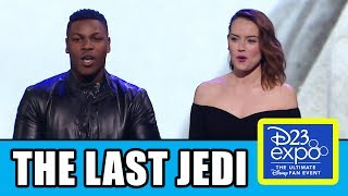 Download Star Wars THE LAST JEDI PANEL + D23 Behind The Scenes Trailer Video