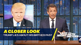 Download Trump Lies about His Birther Past: A Closer Look Video