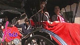 Download Kris TV: Kris and Darla ride the rickshaw Video