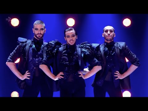 "Yanis Marshall, Arnaud & Mehdi. Britains Got Talent ""Semi Final Performance"" GAYEST Medley ever!"