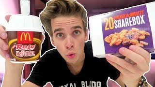 Download TRYING A CHICKEN McFLURRY! Video