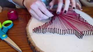 Download Pinterest Designs... String Art Video