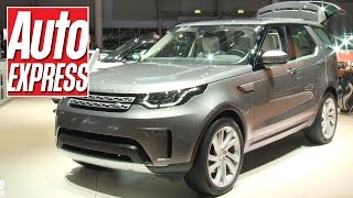 Download New Land Rover Discovery at Paris 2016: first look at new British SUV Video
