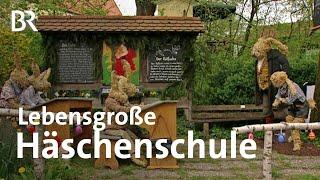 Download Lebensgroße Häschenschule: Der Osterhasen-Schreiner von Ottenhofen | Schwaben & Altbayern Video