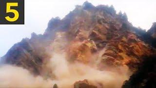 Download Top 5 Largest Landslides Caught on Video Video
