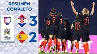Download Croacia 3 – 2 España – UEFA Nations League – Grupo 4 - Resumen y Goles completo Video