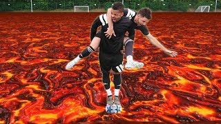 Download THE FLOOR IS LAVA | FOOTBALL EDITION! Video