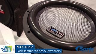 Download MTX Audio JackHammer Series Subwoofers   CES 2017 Video