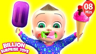 Download Ice Cream Fantasy Land | + More Kids Songs | Billion Surprise Toys Video