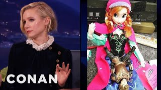 """Download Kristen Bell Got Filthy With Her """"Frozen"""" Action Figure - CONAN on TBS Video"""