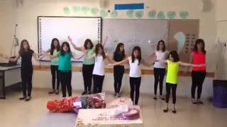 Download رقصة عيد الأم- سادس الكينا Video