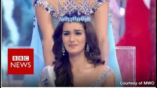 Download India's campaigning Miss World - BBC News Video