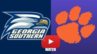 Download GA Southern vs Clemson Week 3 Full Game Highlights (HD) Video