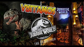 Download MI EXPERIENCIA EN LA JURASSIC WORLD EXHIBITION - Un Dia En Isla Nublar! Video