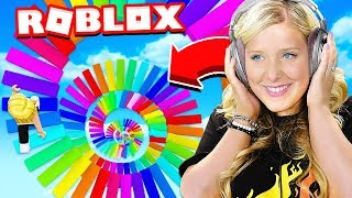 Download WIFE PLAYS FIRST ROBLOX OBBY! Video