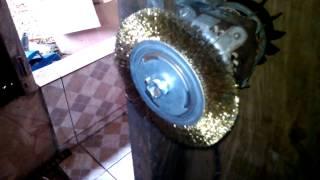 Download Escova de aço em motor de tanquinho Video