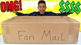 Download GIANT PO BOX FAN MAIL PRESENTS - Surprise Toys For Kids - Candy Opening Video