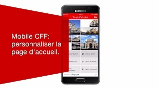Download Mobile CFF: personnaliser la page d'accueil. Video