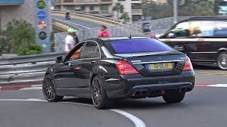 Download BRABUS B63 V8 Mercedes-Benz S63 AMG in Monaco! Video