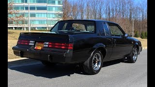 Download 1987 Buick Grand National w/ 14,000 Original miles for sale with walk through video Video