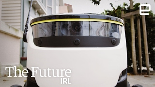 Download Fully automated deliveries via robot | The Future in Real Life Video