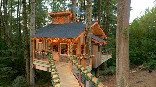 Download Behind the Build: Christmas Treehouse | Treehouse Masters Video
