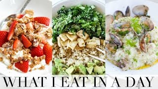 Download WHAT I EAT IN A DAY! | Getting Fit for Summer Video