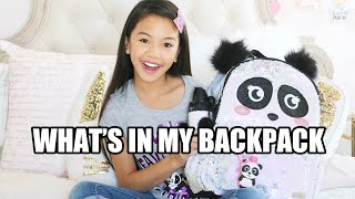 Download WHAT'S IN MY BACKPACK! 🐼 GIVEAWAY WINNERS ANNOUNCED! Video
