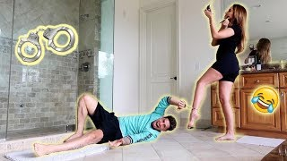 Download 24 HOUR HANDCUFF CHALLENGE WITH PREGNANT WIFE!!! (HILARIOUS) Video
