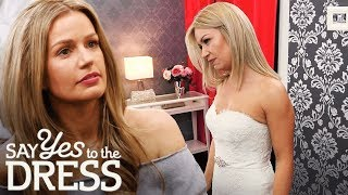 Download Bride is Not Afraid to Tell Entourage to Screw Themselves! | Say Yes To The Dress UK Video