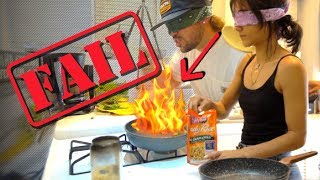 Download COOKING DINNER BLINDFOLDED!! (DON'T TRY THIS) Video