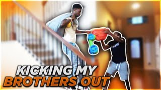 Download KICKING MY BROTHERS OUT ! (GONE WRONG) Video