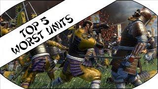 Download TOP 5 WORST UNITS - Total War: Shogun 2! Video