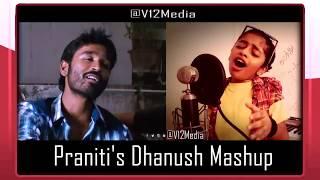 Download Praniti | Dhanush and Anirudh(DNA) | Mashup | Dhanush Birthday Special Video