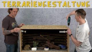 Download Reptil TV - Folge 86 - Naturnahe Terrariengestaltung - Rückwand - Echsen - Leopardgeckos Video