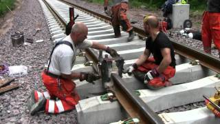 Download Railroad thermite welding Video