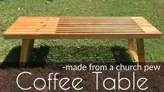 Download Making a Mid Century Modern Coffee Table Video
