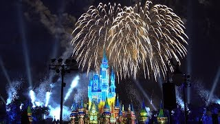 Download 4K Happily ever after fireworks plaza garden viewing area 2017 Magic Kingdom Video