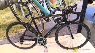 Download 2016 Bianchi Specialissima Dura Ace Di2 11sp Compact Road Bike - Walkaround - 2015 Eurobike Video