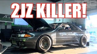 Download 2JZ Killer hits the Dyno and weight scale! - TRC R32 GTR Build Episode 3 Video
