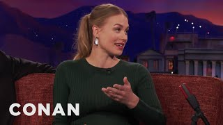 Download Yvonne Strahovski's Bear Safety Lesson - CONAN on TBS Video