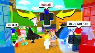 BLUE GUEST TOOK OVER LIFE IN PARADISE   (Roblox) Free