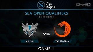 Download Mineski vs TNC | Kiev Major 2017 | SEA Playoffs Loser Finals | PH Coverage | Game 1 Video