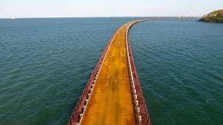 Download Крымскій мостъ 4K: Стапели и мостъ РМ-3 на бреющемъ полётѣ Video