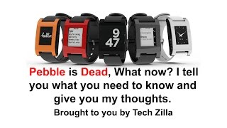 Download FitBit Buys Pebble! Is Pebble Dead? - Discussion - What you need to know Video