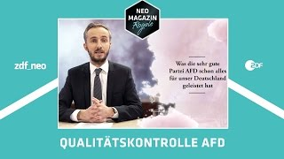 Download Was die sehr gute Partei AfD schon alles für Deutschland geleistet hat | NEO MAGAZIN ROYALE ZDFneo Video